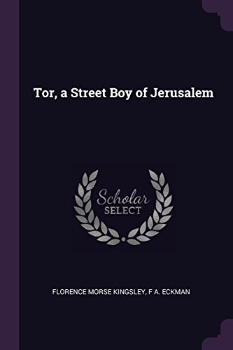 TOR A STREET BOY OF JERUSALEM