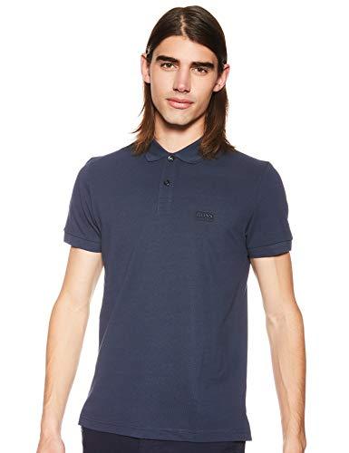 Hugo Boss Herren Regular Fit Short Sleeve Cotton Polo Poloshirt, Navy, XX-Large