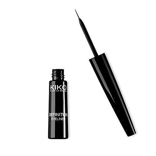KIKO Milano Definition Eyeliner | Lápiz de ojos líquido con cepillo aplicador de precisión