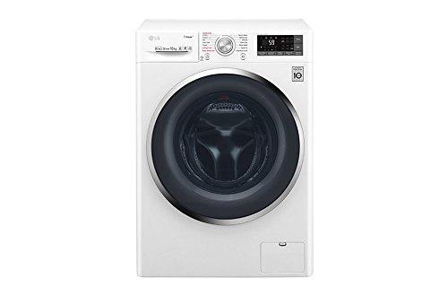 LG F4J7JY2W lavatrice Libera installazione Caricamento frontale Bianco 10 kg 1400 Giri/min A+++