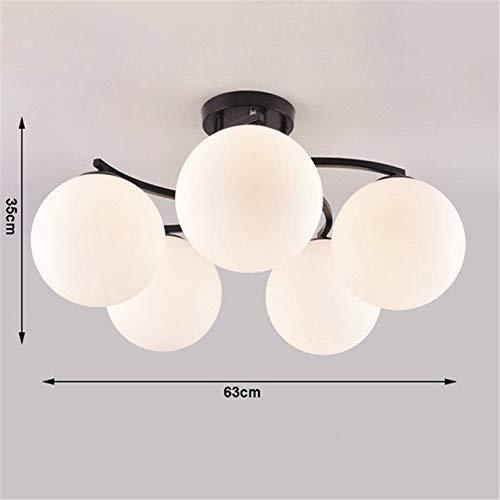5151BuyWorld lamp glazen bol plafondlampen topkwaliteit moderne koper schaduw verlichting ronde plafondlamp keuken verlichting decor