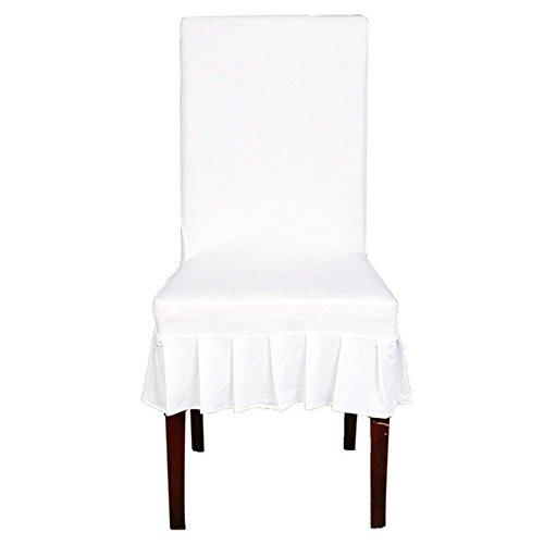 Pictury Stretch Stuhlabdeckung Elastische Hocker Abdeckung Hotel Dining Sitzbezug Stuhl Protector 45-60cm method top sale