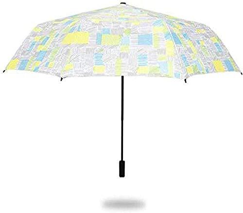Mini paraguas plegable para mujer, resistente al viento, portátil, protección UV para el deporte y viajes