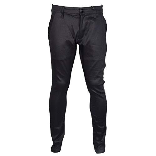 Pantalon Chino Bronson Skinny Bleu foncÉ