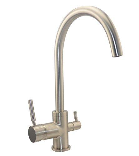 3-weg kraan Rainbow roestvrijstalen look geschikt voor Amway eSpring waterfilter! Keukenarmatuur, mengkraan, drieweg waterkraan