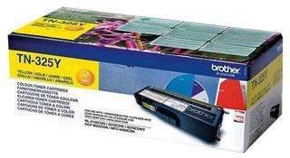 Brother Original Jumbo-Tonerkassette TN-325Y gelb (für Brother HL-4140CN, HL-4570CDW, HL-4150CDN, HL-4570CDWT, DCP-9055CDN, DCP-9270CDN, MFC-9460CDN, MFC-9970CDW, MFC-9465CDN)