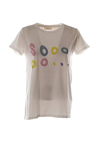 VICOLO T-Shirt Donna Bianco Rk0456 1/20 Primavera Estate 2020