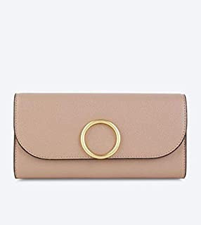 CHARLES & KEITH Pink Faux Leather For Women - Flap Wallets