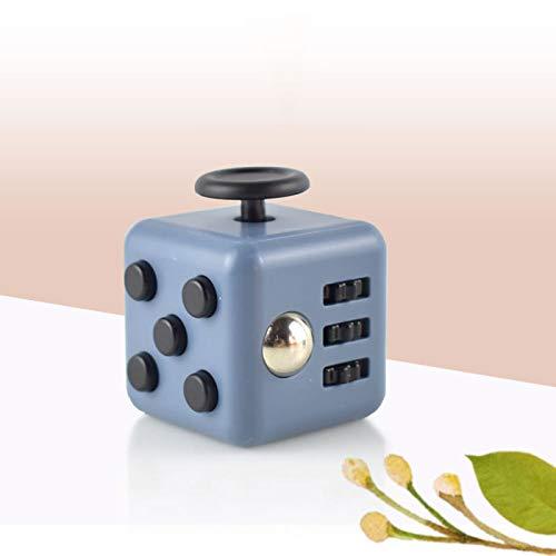 GUIOB Dekompressionswürfel Pinzette EDC Dekompressionsspielzeug Dekompressionsartefakt Kreative Geschenke Für Erwachsene Und Kinder,Grey