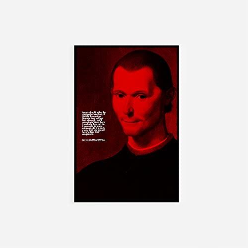 // TPCK // Niccolo Machiavelli - Citazione Regalo - Il Principe - Formato A5 (14,8 x 21 cm)