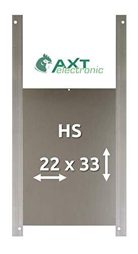 AXT-Electronic HS – Alu-Hühnertür Größe S