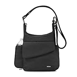 womens travel handbags with water bottle holder