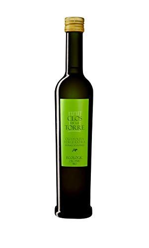 Botella Aceite de Oliva Virgen Extra Ecológico CLOS DE LA TORRE 500ml.