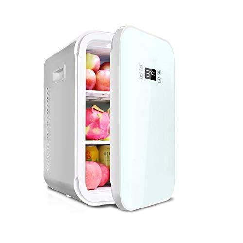 Anjin Mini-koelkast voor auto en thuis, 12 V/220 V 22 l, draagbare thermo-elektrische koelbox/verwarmingsbox voor op reis, camping