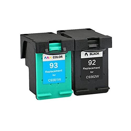 Tóner compatible para HP92 93XL, repuesto para HP Deskjet 5420 5432 5440 5442 5443 OfficeJet 6300 6310 6310xi, unidad de tambor de impresora BK, C, Y, M Suit