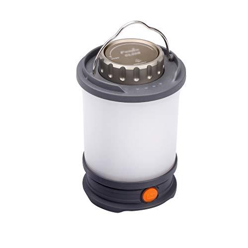 ZRJ Lámparas Camping Light Linterna Lámpara LED Lámpara Lámpara De Tienda De Emergencia USB Recargable para Senderismo Al Aire Libre Inicio Camping Accesorios (Color : Grey)