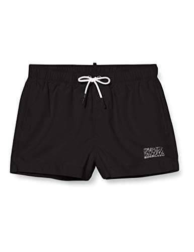 Superdry Herren Sorrento Swim Shorts, Schwarz (Black 02A), XX-Large