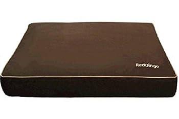 Red Dingo Matelas Ouatinée pour Chien Chocolat S 45 X 60 X 10 cm