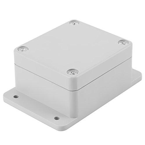 Caja de Conexiones Resistente Al Agua Caja de Ip65 Abs Proyecto Eléctrico Universal Caja de Instrumentos Montaje Fijo(89 * 59 * 35mm)