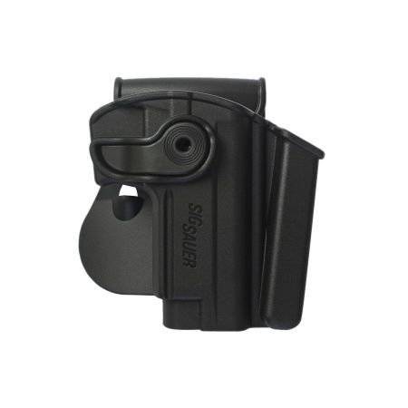 Sig Sauer Mosquito Polymer Holster with Integrated Mag Pouch Black