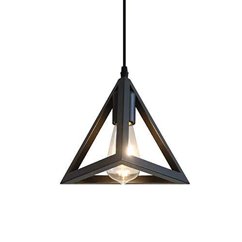 LKK-KK Techo de la Vendimia Industrial Light Fittings de Metal Negro Cosecha Colgando de Montaje Empotrado Lámpara de Techo Industrial Edison Accesorios Ligeros de Cocina Dormitorio Pasillo Loft E27