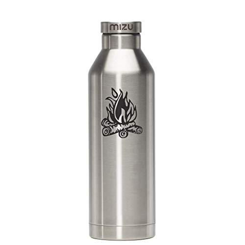 MIZU V8 geïsoleerde fles met roestvrij stalen cap 800 ml Campfire RVS 2018 drinkfles
