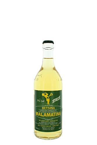 Retsina Malamatina Cl 50 Dry White Wine