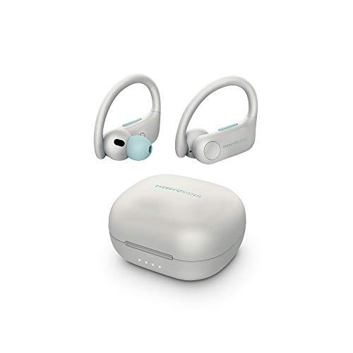 Energy Sistem Earphones Sport 5 Auriculares True Wireless (True Wireless Stereo, Sensor Proximidad, IPX 4)- Blanco