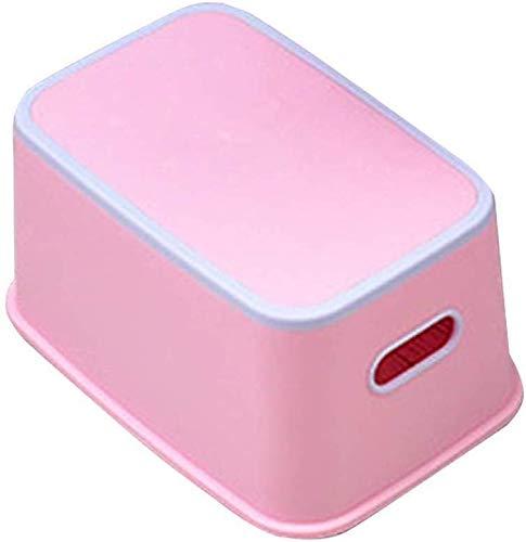 HIZLJJ - Taburete de baño para Sentadillas, ultraportátil y Respetuoso con el Medio Ambiente, para baño, Inodoro, reposapiés para niños, lavarse Las Manos y el pie