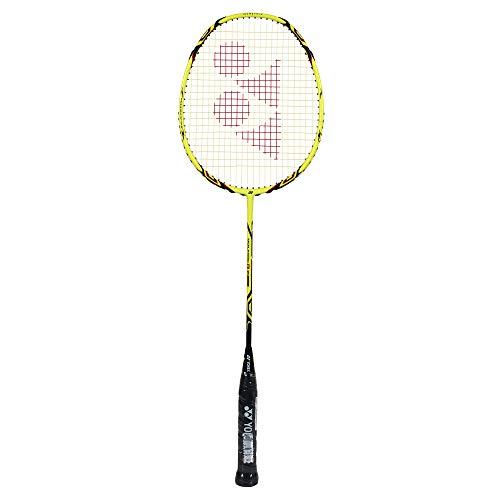 YONEX Voltric 8 E-Tune 4U/G4 Badmintonschläger, gelb, One Size