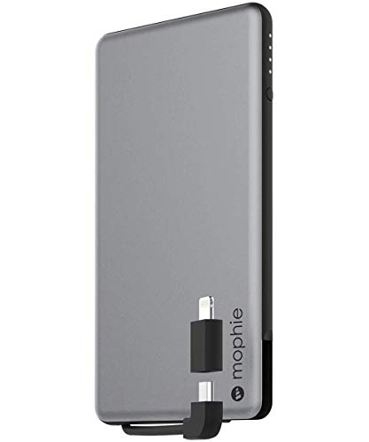 mophie powerstation plus Tragbare Aufladestation - Spacegrau