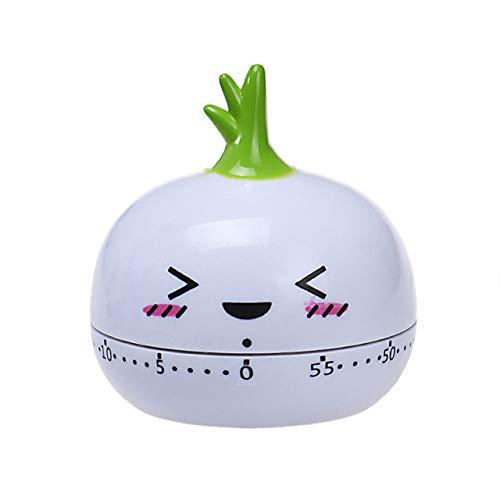 VEADK Küchentimer Küchentimer 60 Minuten Niedlich Obst Tier Kunststoff Mechanisch Kochtimer Erinnerung Küche Countdown Uhr, 7