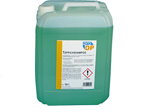 10l Kanister Pro DP Profi Teppichshampoo Teppichreiniger Polsterreiniger Textilreiniger Teppich Shampoo