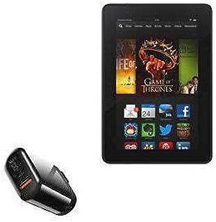 Carregador BoxWave para Kindle Fire HDX 7 (3ª geração 2013), [Carregador de parede PowerDisplay PD (18W)] para Amazon Kind...