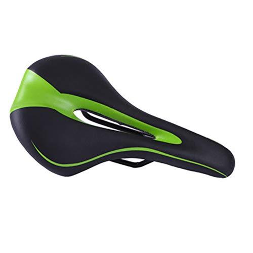 HWZHX Fietszadel, comfort, ademend, waterdicht, zacht, geschikt voor vrouwen en mannen, professionele racefiets, mountainbike, hometrainer, vouwfiets