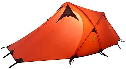 JFZCBXD 1-2 Personen Ultralight Camping-Zelt im Freien Sonneschutz wasserdichte Zelte Zubehör für Sport Wandern Reise Aussenzelt,Rot