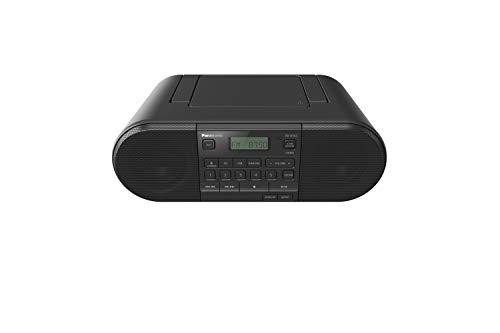 Panasonic RX-D552 Tragbares und Multi-Quell-kompatibles DAB+ & FM-Radio, mit CD, USB, Bluetooth, 20 W, Schwarz