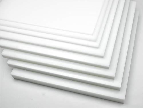 "Natural Simona HDPE Plastic Sheet 3/4"" x 24"" x 48"""