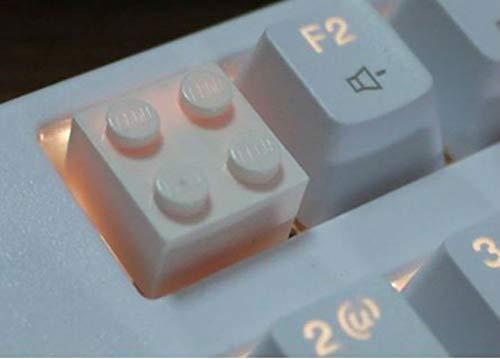 Mugen Legos Block Retro Resin Keycaps für Cherry MX Switches – passend für die meisten mechanischen Gaming-Tastaturen – mit Keycap Puller