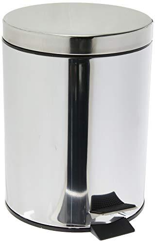 Lixeira Standard com Pedal/Balde Brinox Decorline Lixeiras Aço Inox Aço Inox