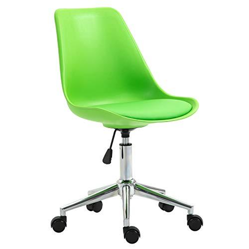 SVITA Eddy Schreibtischstuhl für Kinder Drehstuhl Kinderschreibtischstuhl Grün