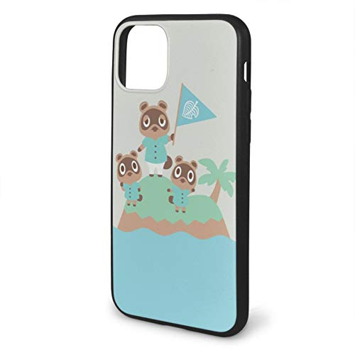 Horizons Crossing Switch Tom Console Island Tommy Dock Animal Nook Nooklings Timmy Compatible with iPhone 11 12 PRO Max XR XS Max 6/7/8 Plus SE 2020 Case TPU Fall Protection Black Phone Cases Cover