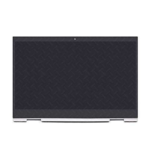 FTDLCD® 15.6 Zoll für HP Envy X360 15-cn0007ng FHD LED LCD Touchscreen Digitizer Display Panel Assembly 1920x1080 mit Rahmen