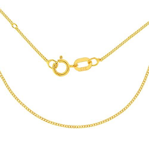 Carissima Gold Collar de mujer con oro amarillo de 9 K (375/1000), 46-51 cm (0.4 mm)