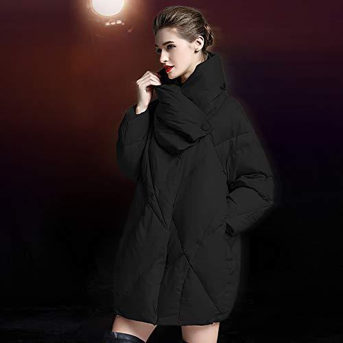 NZHK Donsjack voor dames, winterjas, winterjas, dames, lange jas, grote maten dikker warm