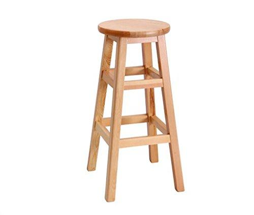 Tabouret en bois Tabouret de bar en bois massif tabouret haut/moderne simple dinant la chaise de bar chaise/salon tabouret de bar