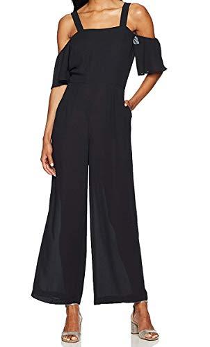 Glamorous Women's Cold Shoulder Jumpsuit, Black, X-Small