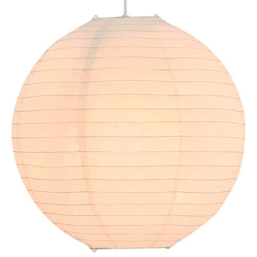 vidaXL Lámpara de Techo Colgante Redonda Luz Salón Bola