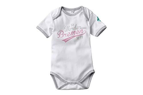 Werder Bremen GOTS Werder Baby Body (62, weiß)