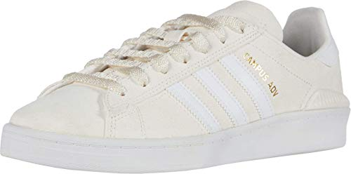 adidas Campus ADV Supplier Colour/Footwear White/Gold Metallic Men's 10, Women's 11 Medium
